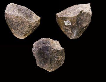 In Ethiopië gewonden 1.7 miljoen jaar oude Oldowanperiode vuistbijlen. Foto: wiki, upload van Didier Descouens