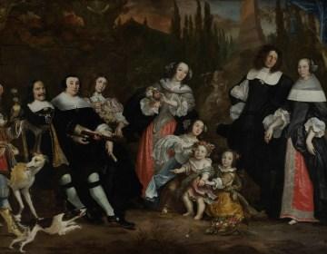 Het groepsportret van Michiel de Ruyter