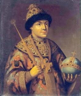 Tsaar Fjodor III. Bron: Wikimedia