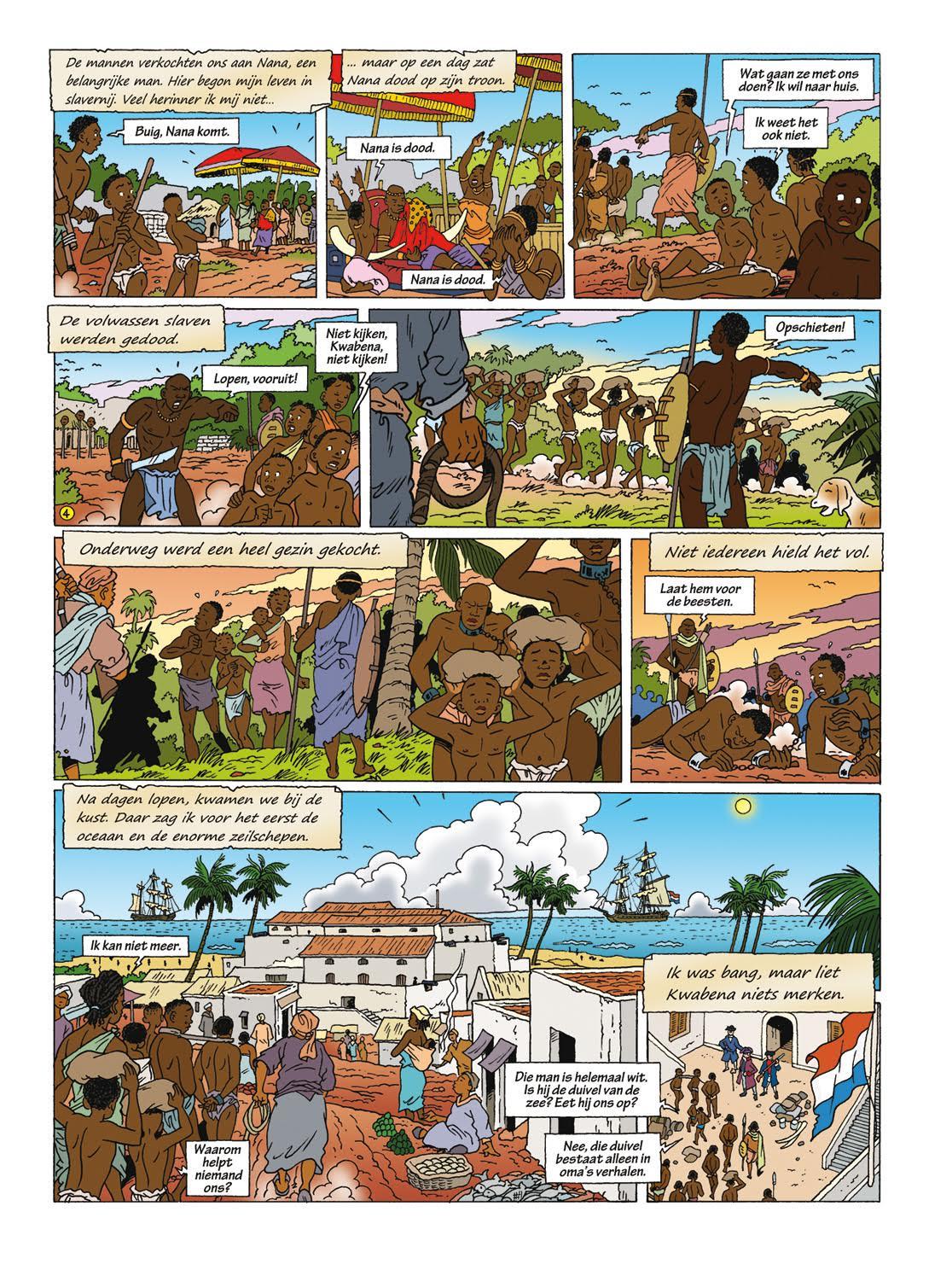 Nederlandse Citaten : Stripverhaal over het nederlandse slavernijverleden