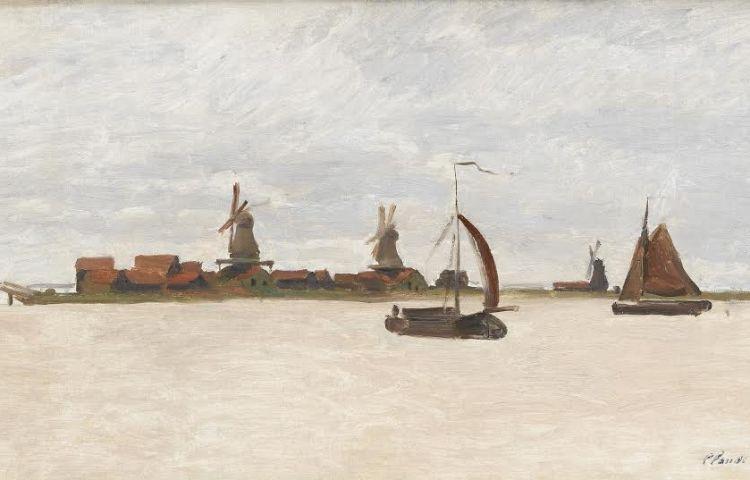 De Voorzaan en de Westerhem - Claude Monte, 1871