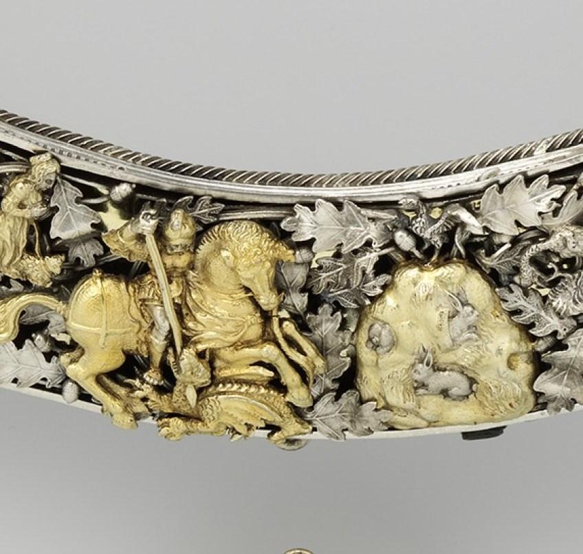 De schuttersketen, detail (Rijksmuseum)