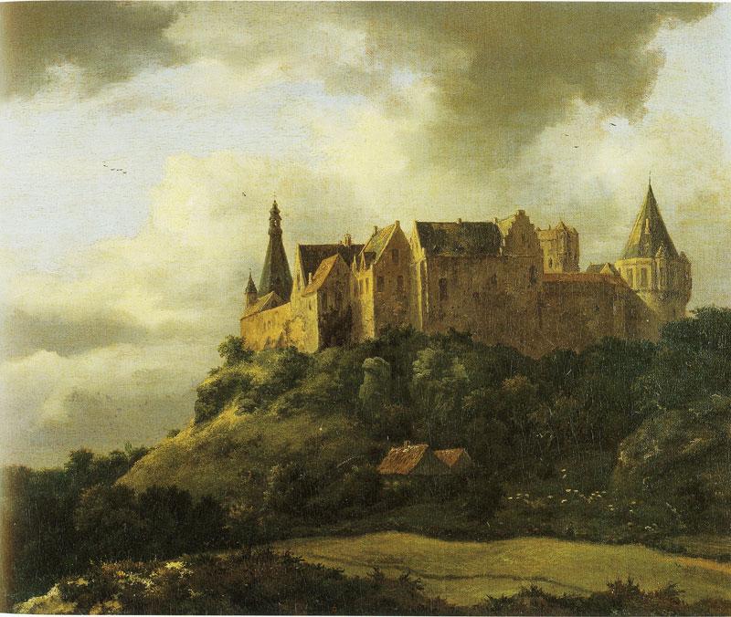 Kasteel Bentheim - Jacob van Ruisdael
