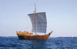 Replica van een koggeschip (Gemeente Deventer)
