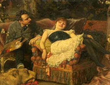 'Het rustende model' van Semenowsky/Amsterdam Museum