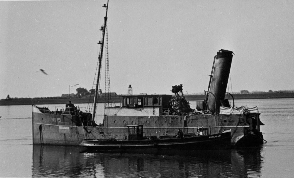 Voorstuk van Loodsboot Nr. 19
