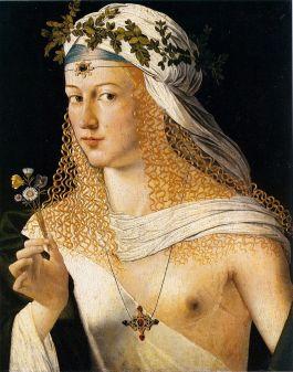 Lucrezia Borgia volgens Bartolomeo Veneziano
