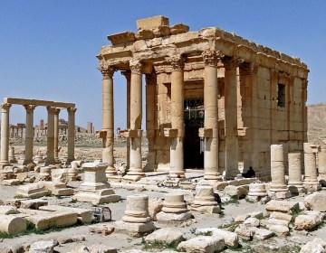 Tempel van Baal-Shamin in Palmyra, voor de verwoesting in augustus 2015 (cc)