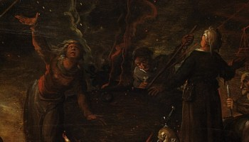 Detail uit Heksenbijeenkomst, Frans Francken II, 1607, Kunsthistorisches Museum, Wenen