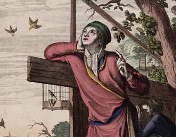 Casper Luyken, September, prent, ca. 1700 (detail)