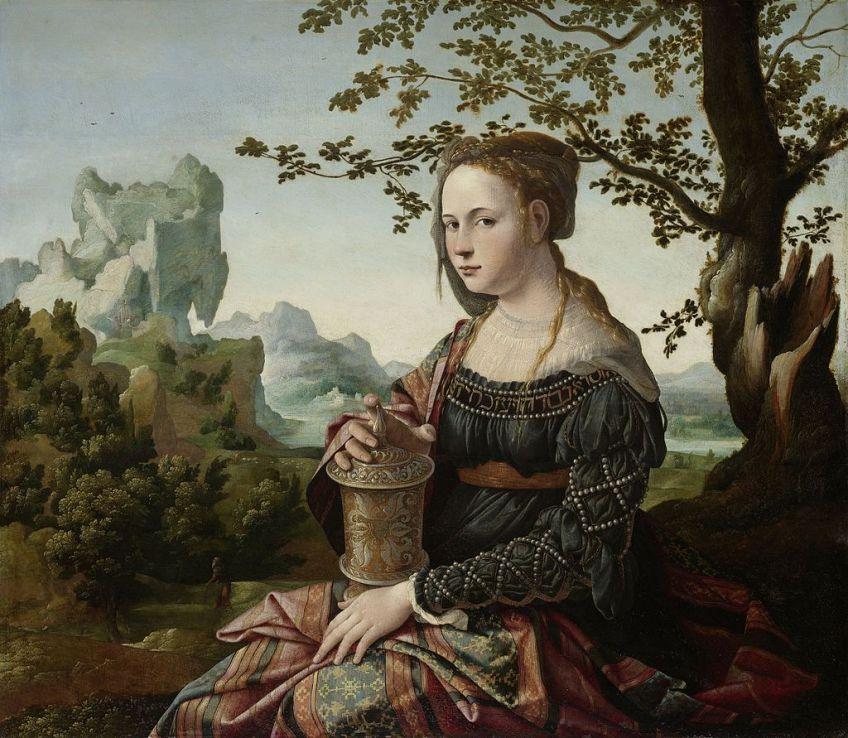 Maria Magdalena, Jan van Scorel, Rijksmuseum