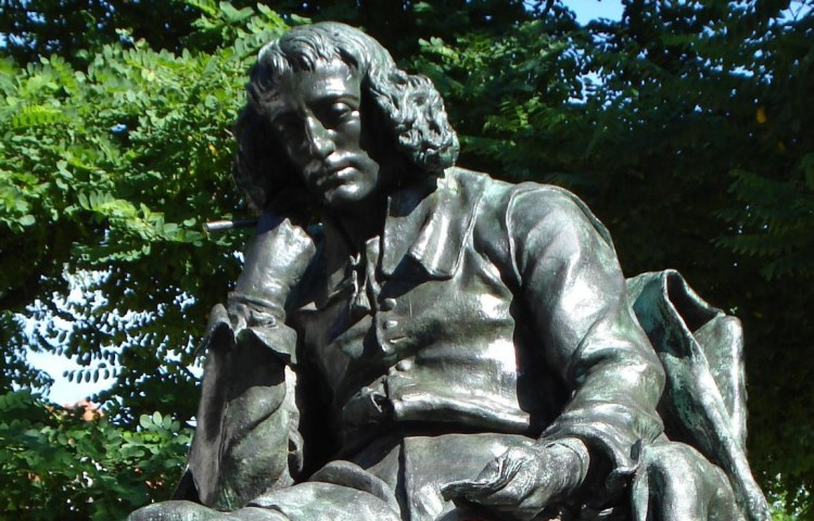 Standbeeld van Baruch Spinoza in Den Haag