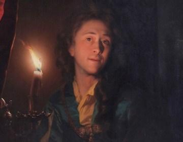 Zelfportret van Godefridus Schalcken (detail)