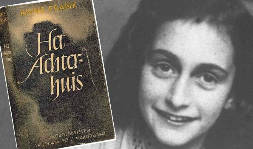 Anne Frank en haar dagboek