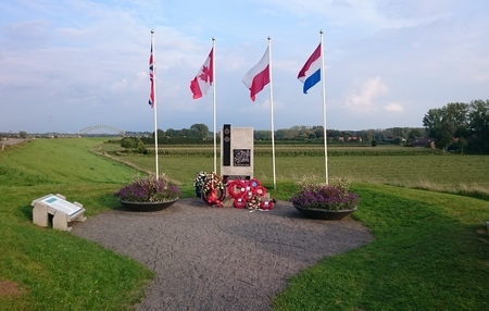 Monument voor de Britse terugtocht over de Rijn, 25/26 september 1944