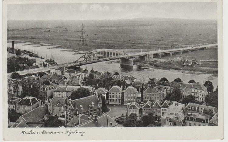 Arnhem. Rijnbrug. 1939