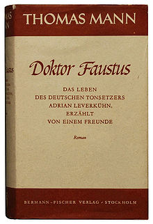 Doctor Faust – Thomas Mann
