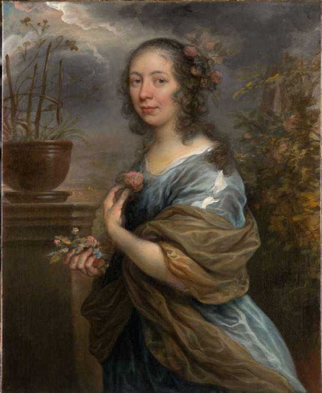 Govert Flinck, Portret van Margaretha Tulp, ca. 1658. Collectie Six, Amsterdam
