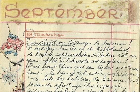 Veertig Nijmeegse oorlogsdagboeken online