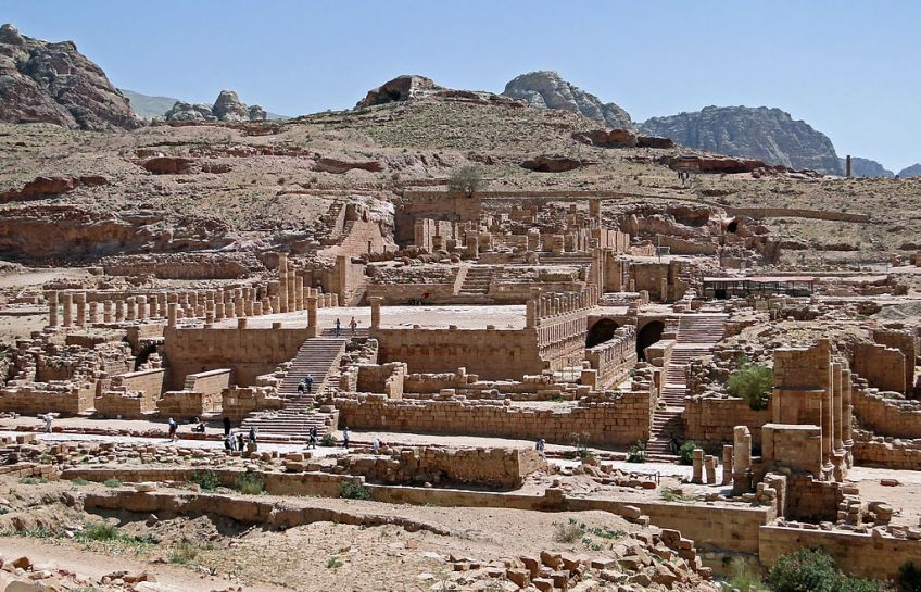 Petra, Jordanië - cc