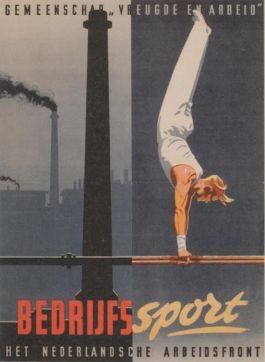 Poster uit de bezettingsjaren - Bron: boek