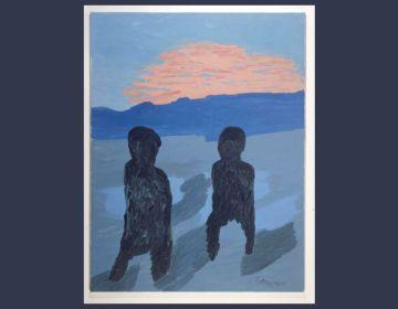 Staande in de ruimte no. 3, 2004 - Karel Appel (Stedelijk Museum)