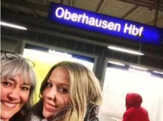 Sterre en Miriam in Oberhausen