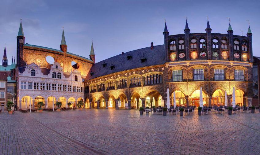 Rathausmarkt Lübeck