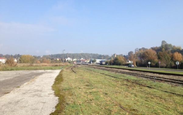 Spoorwegplatform Izbica