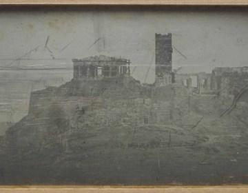Athene, de Acropolis, westzijde - Joseph-Philibert Girault (Christie's)