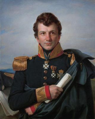 Cornelis Kruseman, Portret van Johannes van den Bosch, 1829, Collectie Rijksmuseum