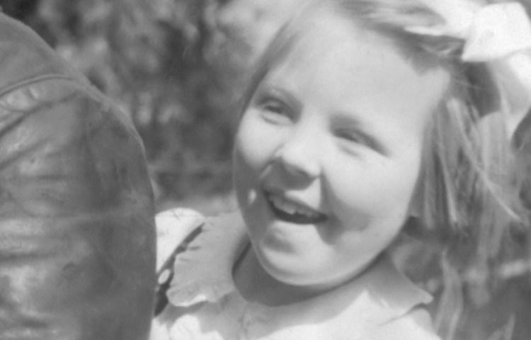 Prinses Beatrix in 1946 (Nationaal Archief)
