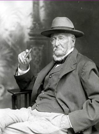Joseph Glidden. Bron: Illinois Public Library