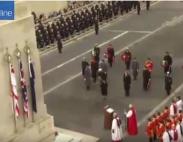 Koningspaar aanwezig bij WOII-herdenking Londen