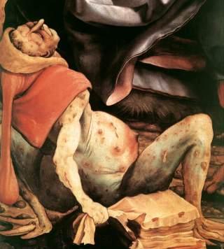"""Schilderij Pieter Brueghel, """"De kreupelen"""" (1568). Bron: Louvre, Parijs / Wikimedia"""