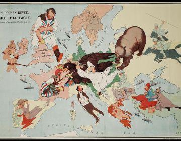 Cartoon over de Eerste Wereldoorlog