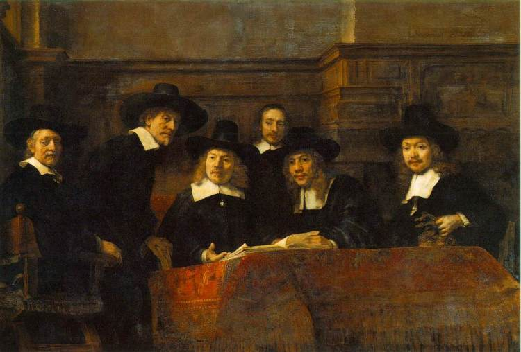 De Staalmeesters - Rembrandt van Rijn