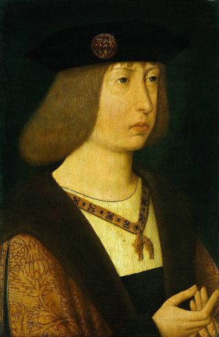 Filips I van Castilië, de echtgenoot van Johanna van Castillië