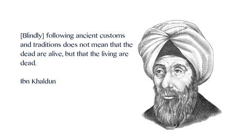Spreuk van Ibn Khaldun