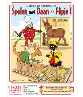 Daan Hoeksema, Affiche tentoonstelling Flipje en Streekmuseum, 2013, Tiel