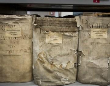 Archief Amsterdamse Notarissen voorgedragen bij Unesco (Stadsarchief Amsterdam)
