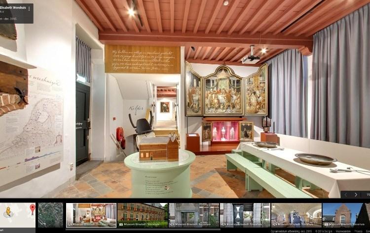 Weeshuismuseum te bezoeken via Google Street View