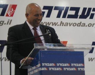 De Arabisch-Israëlische voormalig minister Raleb Majadele in april 2008. Bron: Wikimedia