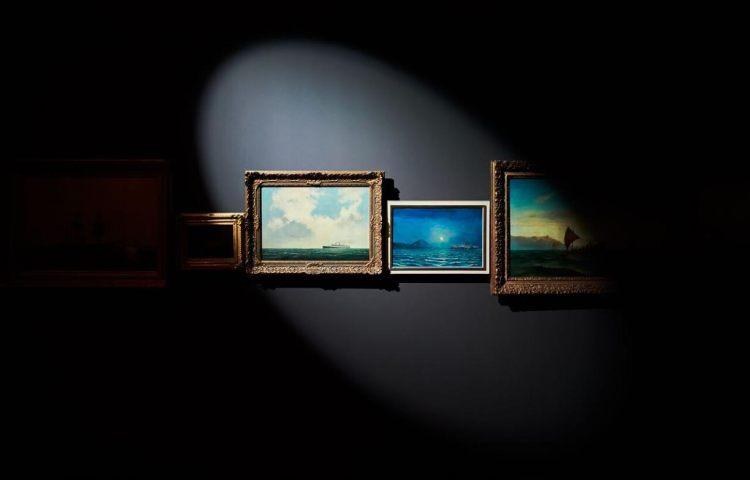 Daan Roosegaarde, Scheepvaartmuseum (© Pim Hendriksen)