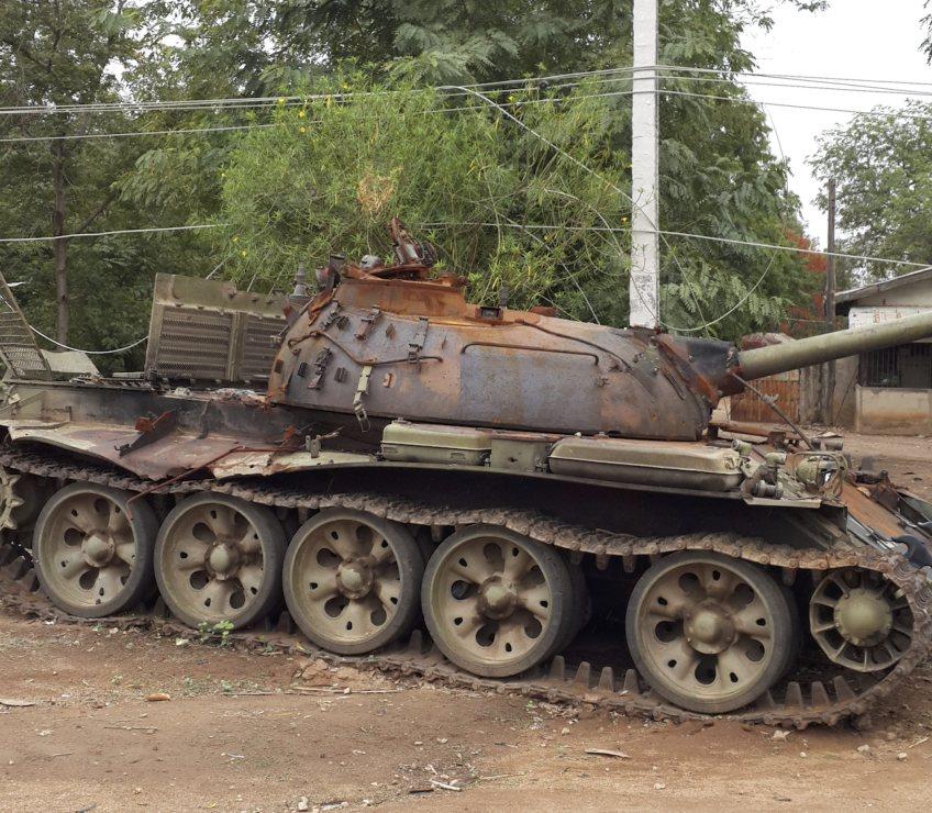 Stille getuige van de strijd tussen het Nigeriaanse leger en Boko Haram