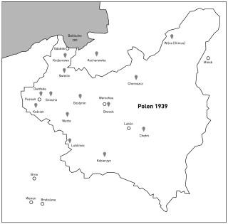 Moordlocaties van de nazi's in Polen