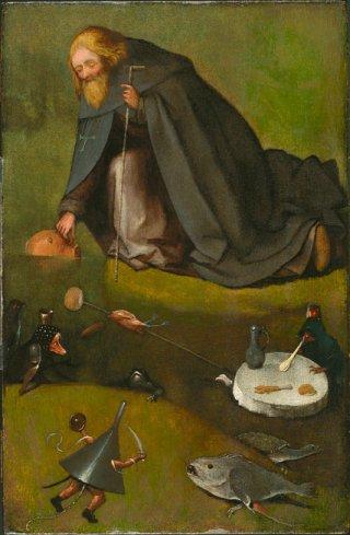 Het aan Jeroen Bosch toegeschreven schilderij