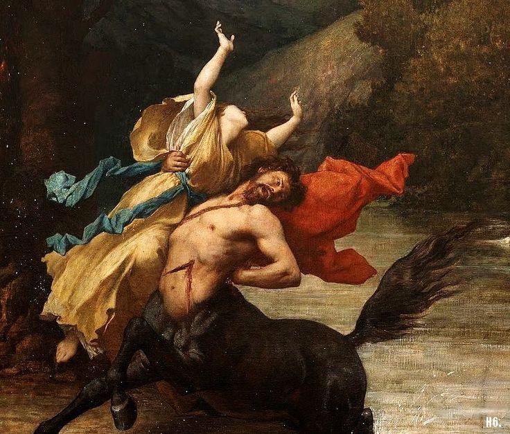 Nessus en Deïanira