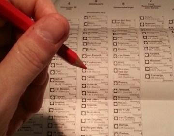 Stemmen met een rood potlood - cc