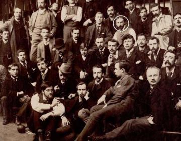 'Groepsfoto met Vincent van Gogh ontdekt'